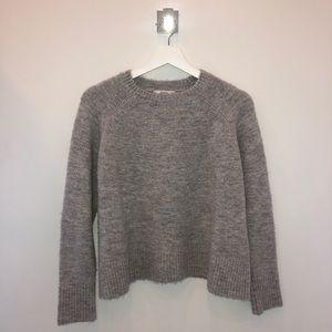 Mango gray sweater